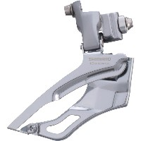 Shimano 105 R773 Triple Front Derailleur, Braze On, Silver, New