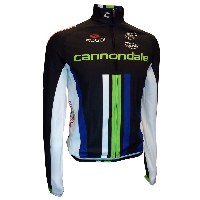 Cannondale Pro Cycling 2014 Team Winter Jersey - Black