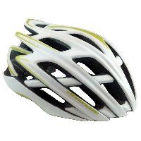 Cannondale Cypher Helmet White/Lime - 3HE08/WHT/LI