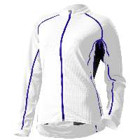 Cannondale Women's Classic Long Sleeve Jersey White - 4F121-WHT
