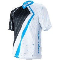 Cannondale 2014 Trigger Short Sleeve Jersey Cyan  - 4M156/CYN