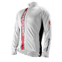 Cannondale Elite Winter Long Sleeve Jersey White - 4M171-WHT