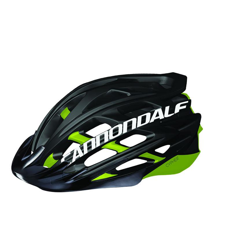 Cannondale Cypher MTB Helmets Adult Black/Green S/M CH1136U13SM