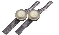 Cannondale Bumper Pair Light Graphite CU4112OS02