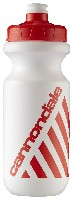 Cannondale Water Bottle Retro Logo White/Red 20 oz CU41512004