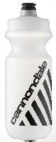 Cannondale Water Bottle Retro Logo Clear/Black 20 oz CU41512005