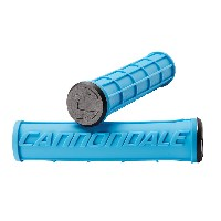 Cannondale Logo Silicone Grips Blue CU4193OS04