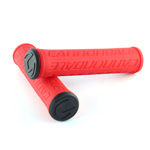 Cannondale Logo Silicone Grips Red CU4193OS06