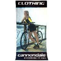 Cannondale Fabric Printed Banner - Clothing