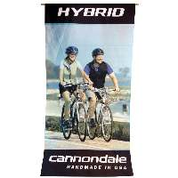 Cannondale Fabric Printed Banner - Hybrid
