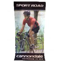 Cannondale Fabric Printed Banner - Sport Road