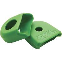 Race Face Medium Crank Boots, Fit Hollowgram Arms 2-Pack Green