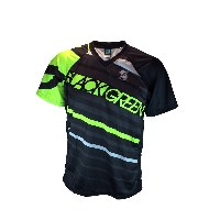 Infinite Cycles Black & Green Club Mountain Jersey