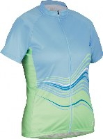 Cannondale 13 Women's Frequency Jersey Light Blue Large - 3F126L/LTB