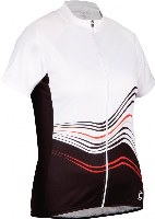 Cannondale 13 Women's Frequency Jersey White Small - 3F126S/WHT