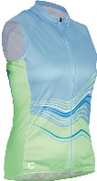 Cannondale 13 Women's Frequency Sleeveless Light Blue Small - 3F128S/LTB