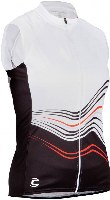 Cannondale 13 Women's Frequency Sleeveless White Small - 3F128S/WHT