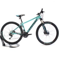 Cannondale 2016 F-Si Alloy 2 Women's Small Turquoise Mountain Bike