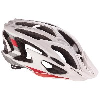 Cannondale Ryker Mountain Bike Helmet - White/Red