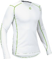 Cannondale Base Layer Long Sleeve White