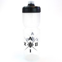 Cannondale Aluminati Cycling Water Bottle Clear/Black 750ml
