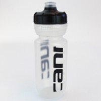 Cannondale Logo Cycling Water Bottle Clear/Black 600ml
