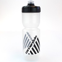 Cannondale Retro Vintage Cycling Water Bottle Clear/Black 750ml