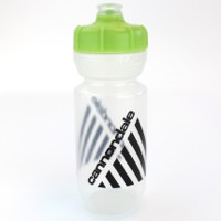 Cannondale Retro Vintage Cycling Water Bottle Clear/Green 600ml