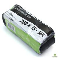 Cannondale 700c x 35 - 50c w/ 60mm Presta - Black Smooth Valve Bicycle Inner Tube Single