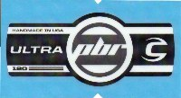Cannondale Lefty Ultra PBR 120 Band Decal/Sticker Black, white, Silver