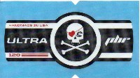 Cannondale Lefty Ultra PBR 120 Band Decal/Sticker Black, white, red