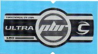 Cannondale Lefty Ultra PBR 120 Band Decal/Sticker Black, silver, grey