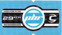 Cannondale Lefty PBR 90 29 Band Decal/Sticker Black, white, blue