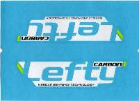 Cannondale Lefty Carbon Wrap Decal/Sticker Black, white, green