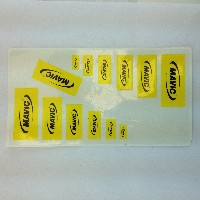 Mavic sticker set various sizes
