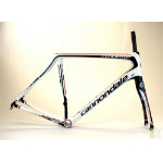 Cannondale 2015 Synapse Carbon White w/ Black Size 56 cm Frame and Fork