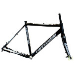 Cannondale 2015 CAADX Cyclocross Black w/ White Size 51 cm Frame and Fork
