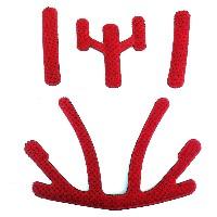 Cannondale Ryker Helmet Pad Set RED