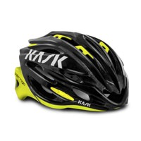 Kask Vertigo 2.0 - Black / Fluo Yellow