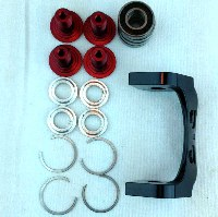 Cannondale Moto Push Link Hardware Kit - KP088/RED