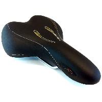 Selle Royal Mens's Moderate Gel Saddle, Black