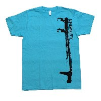 Infinite Cycles Cannondale Lefty Super Max T-Shirt - Blue