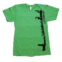 Infinite Cycles Cannondale Lefty Super Max T-Shirt - Green