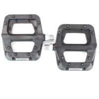 Race Face Chester Composite Flat Platform Black Pinned Sealed Pedals 9/16