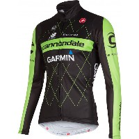 Cannondale Garmin Pro Cycling  Thermal Jersey LS FZ