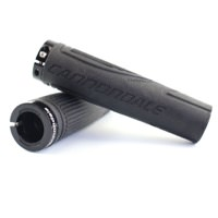 Cannondale Logo Ergo Comfort Lock On Black Grips - Take Off New