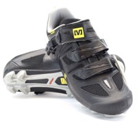 Mavic Rush Maxi Fit MTB Black Mens Cycling Shoe