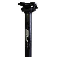 FSA SL-K Carbon Seatpost 25.4mm x 350mm, 0mm Setback Black Decal
