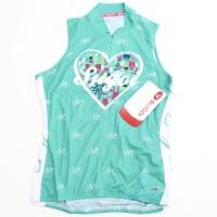 Sugoi Women's I Heart Bikes S/L Jersey Light Jade