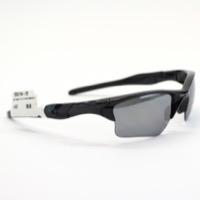 Oakley Half  Jacket 2.0 XL Polished Black w/ Black Iridium Polarized Lens 9154-05